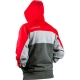 Planet Eclipse Track Zip Hoody Red