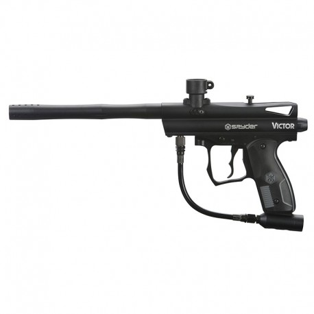 Spyder 2012 Victor Paintball Gun Black