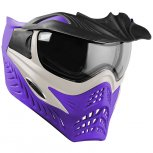 VForce Grill SC Paintball Mask - Silver On Purple