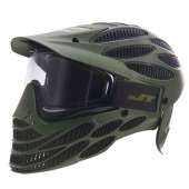 JT Flex 8 Full Coverage Paintball Mask Thermal Olive