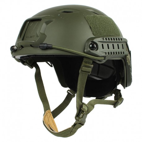 FAST Base Jump Tactical Helmet Olive