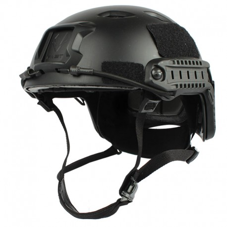 FAST Base Jump Tactical Helmet Black