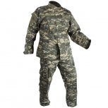 Combat Uniform - 2 Piece Set - Pants and Jacket - ACU