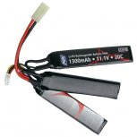 11.1V 1300 mAh Li-Po Airsoft Battery
