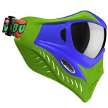 VForce Grill Paintball Mask - Cowabunga Series Blue/Green