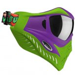 VForce Grill Paintball Mask - Cowabunga Series Purple/Green