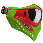 VForce Grill Paintball Mask - Cowabunga Series Red/Green