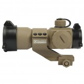 Tactical Red/Green Tan Dot Sight with Cantilever Mount by Killhouse Weapon Systems