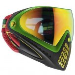 DYE i4 Paintball Mask Thermal Rasta