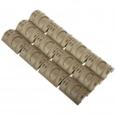 Killhouse Rail Cover 12 Pack FDE