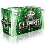 GI Sportz Paintballs - 2 Star - 50cal - 2000ct Multiple Colours Available