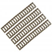 Ladder Rail Covers 4 Pack Tan by Killhouse Weapon Systems