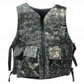 Gen-X Basic Reversible Vest Black/Digicamo