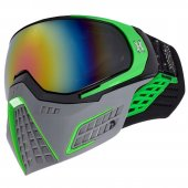HK Army KLR Paintball Mask Slate – Black/Green
