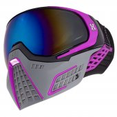 HK Army KLR Paintball Mask Slate – Black/Purple