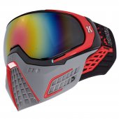 HK Army KLR Paintball Mask Slate – Black/Red