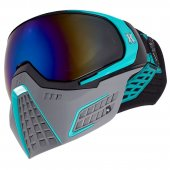 HK Army KLR Paintball Mask Slate – Black/Teal
