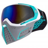 HK Army KLR Paintball Mask Slate – White/Teal