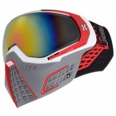HK Army KLR Paintball Mask Slate – White/Red