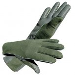 NOMEX FLIGHT GLOVES GREEN XL