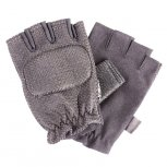 Empire Fingerless Gloves Soft - Black
