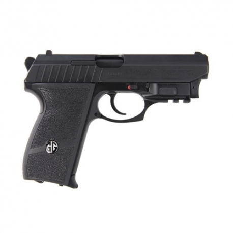 G&G GS-801 Black with Laser Airsoft Pistol
