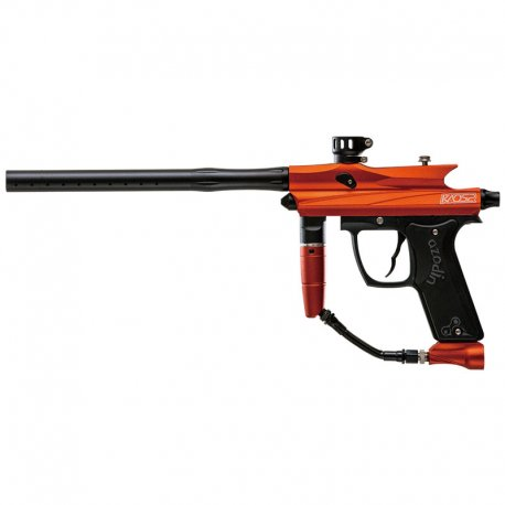 Azodin Kaos 2 Paintball Gun - Orange/Black