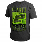 Planet Eclipse Fade T-Shirt Dark Marl