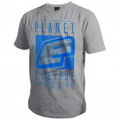 Planet Eclipse Fade T-Shirt Light Marl