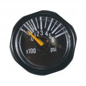 Invert Micro Gas Gauge 1200psi
