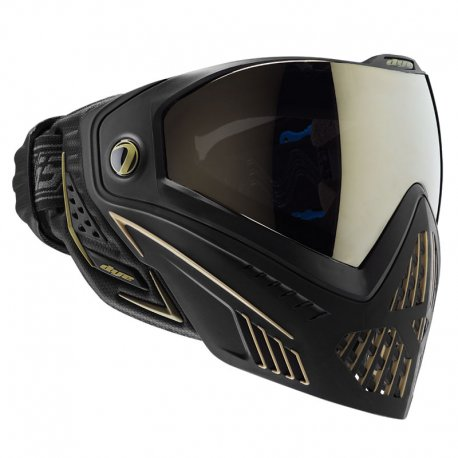 DYE i5 Paintball Mask Thermal ONYX GOLD Black/Gold