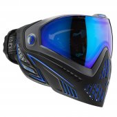 DYE i5 Paintball Mask Thermal Storm Black/Blue