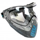 DYE i4 Paintball Mask Thermal Airstrike Cyan - Minor Use