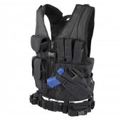 Condor Crossdraw Vest - Black