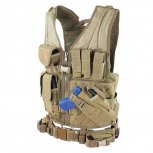 Condor Crossdraw Vest - Tan