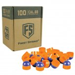 Tiberius First Strike - 100 Rounds - Blue/Orange/Orange