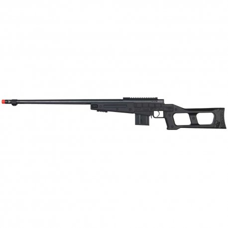 WELL MB4409B Bolt Action Rifle w/Fluted Barrel - Black