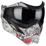 VForce Grill SE Paintball Mask - Jolly Rodger