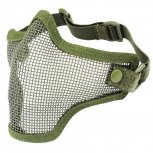 Steel Mesh Half-Face Mask OD