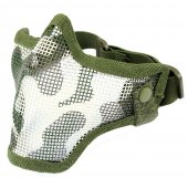 Steel Mesh Half-Face Mask Camo