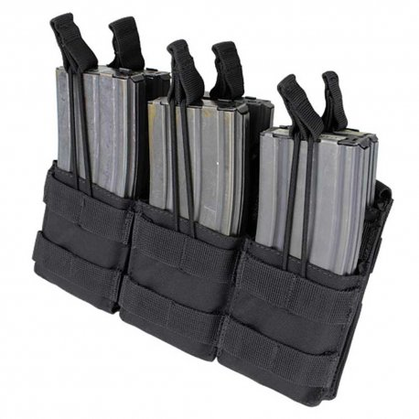 Condor Triple Stacker M4 Mag Pouch - Black