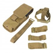 Condor M4 Buttstock Mag Pouch - Tan