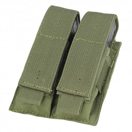 Condor Double Pistol Mag Pouch - OD