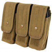 Condor Triple AR/AK Magazine Pouch - Coyote Brown