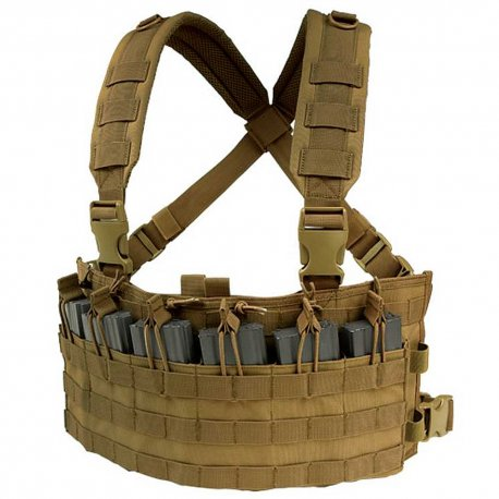 Condor Rapid Assault Chest Rig - Coyote Brown