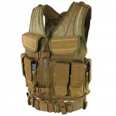 Condor Elite Tactical Vest - Coyote Brown