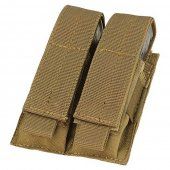 Condor Double Pistol Magazine Pouch - Coyote Brown