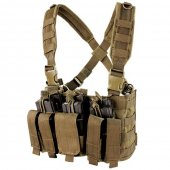 Condor Recon Chest Rig - Coyote Brown
