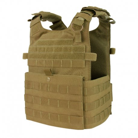 Condor Gunner Plate Carrier - Coyote Brown