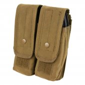 Condor Double AR/AK Mag Pouch - Coyote Brown
